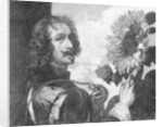 Anthony van Dyck, self-portrait with a sunflower by OL Lacour