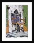 Wrought steel chair by Edwin Foley