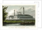 Gasworks by the Regent's Canal, London by A McClatchie