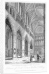 Interior of Poets' Corner, Westminster Abbey, London by Thomas Higham