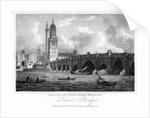 London Bridge, London by W Wallis