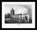 Stepney Church, London by Hobson