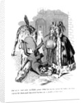 Cartoon on a riding theme by Anonymous