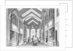 Interior of the Burlington Arcade, Westminster, London by Anonymous