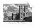 'Abbey Church of St Peter, Westminster', London by Anonymous