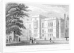 The New Library and Parliament Chambers, Temple, London by J Hinchcliff