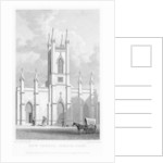 New church, Somers Town, Camden, London by William Deeble