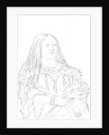 Portrait of a Native American woman by Myers and Co