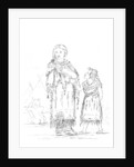 Native American woman and child by Myers and Co