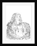 Portrait of a Native American man by Myers and Co
