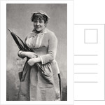 Anna Judic, French comic actress by Anonymous