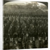 Japanese infantry at the Emperor's birthday review, Tokyo, Japan by Excelsior Stereoscopic Tours
