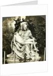 Pieta by Michelangelo, St Peter's Basilica, Rome, Italy by Underwood & Underwood
