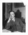 Louis de Broglie, French physicist by Anonymous