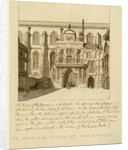 South view of the entrance to Guildhall, City of London by William Griggs