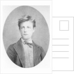 Arthur Rimbaud, French poet and adventurer by Anonymous