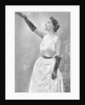 Yvette Guilbert, French cabaret singer and actress by Anonymous