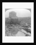 Whippet tank on a muddy battlefield, Morcourt, France, World War I by Realistic Travels Publishers