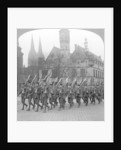 British troops marching in Cologne, Germany by Realistic Travels Publishers