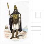 Warrior, possibly Gallic or Frankish by Michelz