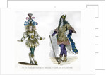 Sun King theatre costume, and King Louis XIV of France by Anonymous