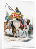 Norman cavalry by Anonymous