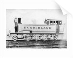 Tank engine, steam locomotive built by Kerr, Stuart and Co by Raphael Tuck
