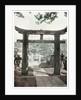 Stone torii, Suwa Temple, Nagasaki, Japan by Anonymous