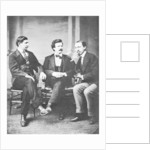 Alfred Townsend, Mark Twain and David Gray by Anonymous