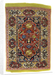 Knotted wool carpet by Anonymous