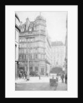 Savoy Hotel and Theatre across the Strand from Norfolk Street, London by Anonymous