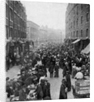 Sunday market, Wentworth Street, East London by Anonymous