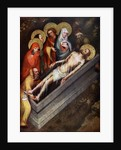 The Tomb of Christ', Master of the Trebon Altarpiece, about 1380 by Master of the Trebon Altarpiece