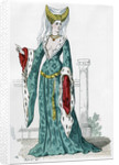 Noblewoman of the time of Charles VI of France by Anonymous