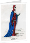 Noblewoman of the time of Charles VI of France by Petit