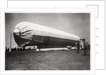 Zeppelin LZ 5 at Goeppingen, Germany by Anonymous