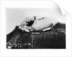 Army Zeppelin Z2 (LZ5) stranded near Weilburg during a storm, Germany by Anonymous