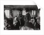 Passenger compartment of a Zeppelin, Lake Constance, Germany by Anonymous