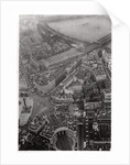 Aerial view of Trafalgar Square, London, from a Zeppelin by Anonymous