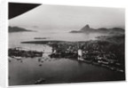 Aerial view of Rio de Janeiro, Brazil, from a Zeppelin by Anonymous