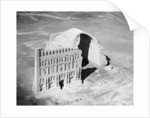 The Taq-i Kisra from the air, Ctesiphon, Iraq by Anonymous