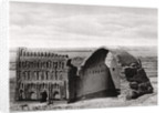 The Taq-i Kisra from the air, Ctesiphon, Iraq by A Kerim