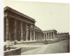 Exterior of the British Museum, Great Russell Street, London by Anonymous