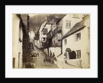 The New Inn and street, Clovelly, Devon by Anonymous
