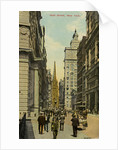 Wall Street, New York City, New York, USA by Anonymous