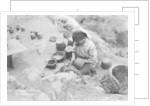 Making pottery, Atalaya, Las Palmas, Gran Canaria, Canary Islands, Spain by Anonymous