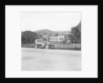 A Singer car in front of the Governor's house, Trinidad, Trinidad and Tobago by Anonymous