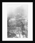 Banff Springs Hotel, from Tunnel Mountain, Banff National Park, Alberta, Canada by Marjorie Bullock
