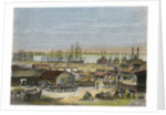 Mississippi River, New Orleans, Louisiana, USA by Barbant