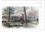 Battle of Bentonville, North Carolina, American Civil War by Anonymous